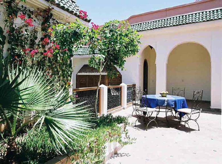 Riad marrakech riad daria avec piscine with pool for Riad avec piscine marrakech