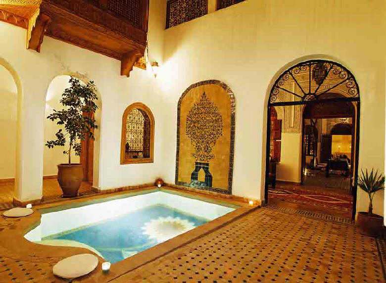 Riad marrakech riad daria avec piscine with pool for Riad marrakech piscine chauffee